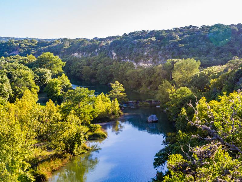 large river and trees texas land and ranches for sale