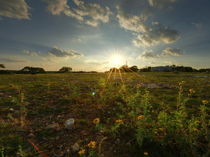 Fields in 7 Springs Ranch property for sale in Texas.