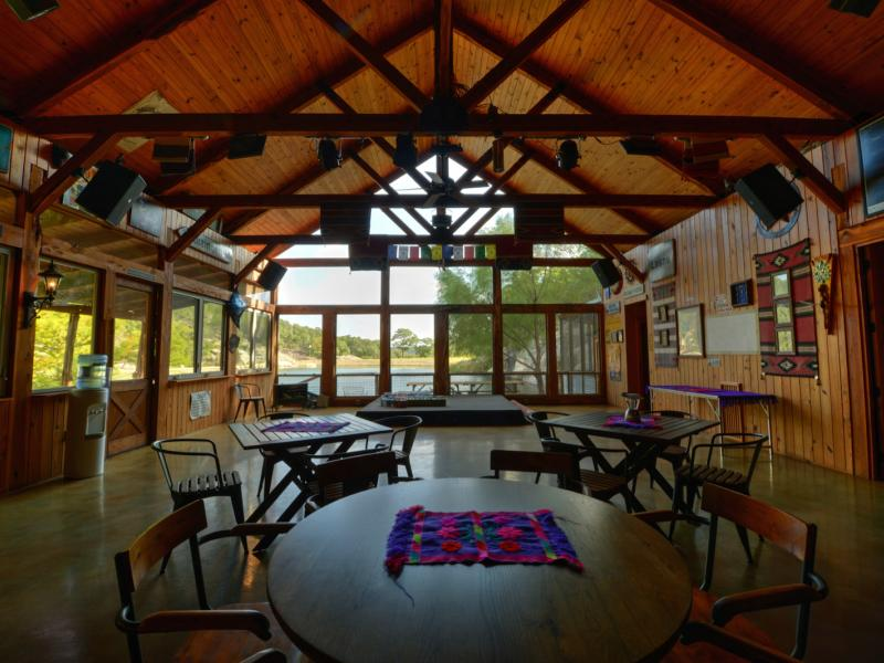 7 Springs Ranch with a party barn for any ocasion is for sale in Texas.
