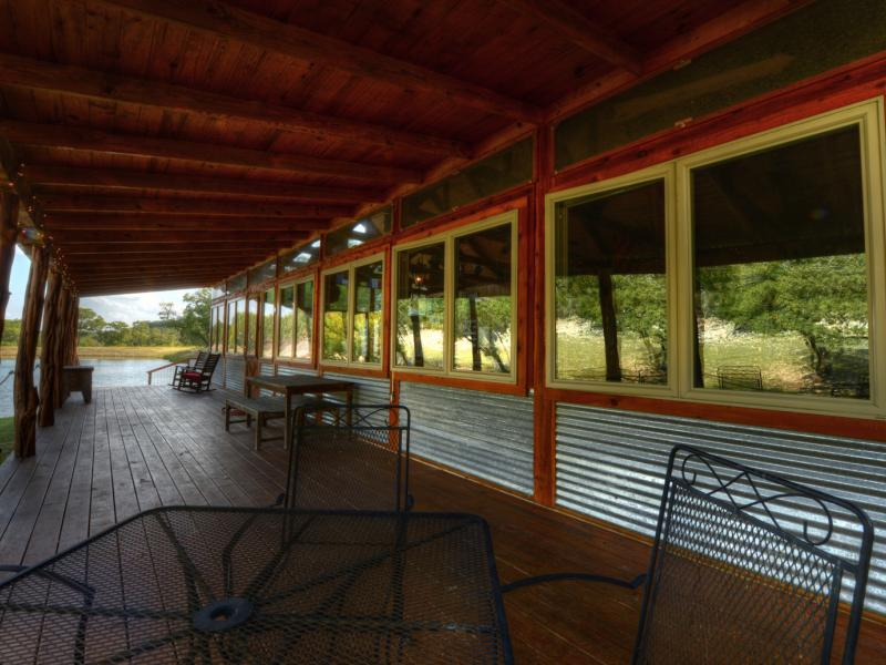 Partybarn in 7 Springs Ranch available for sale in Texas.