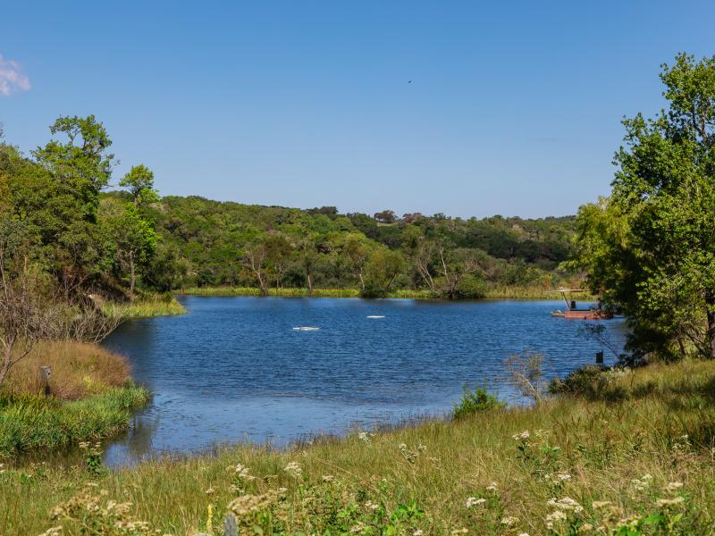 Eagle Ridge is a water ranch for sale in the Texas Hill Country