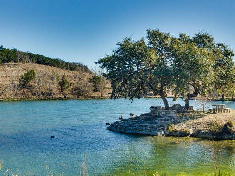 Eagle Ridge has a 3 acre and 8 acre spring fed lake