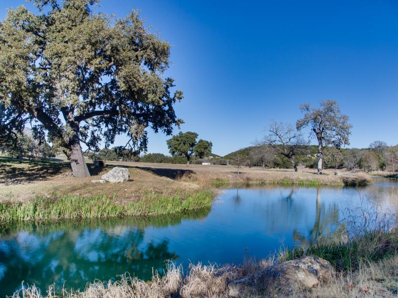 Eagle Ridge Ranch is a live water ranch for sale in the Hill County