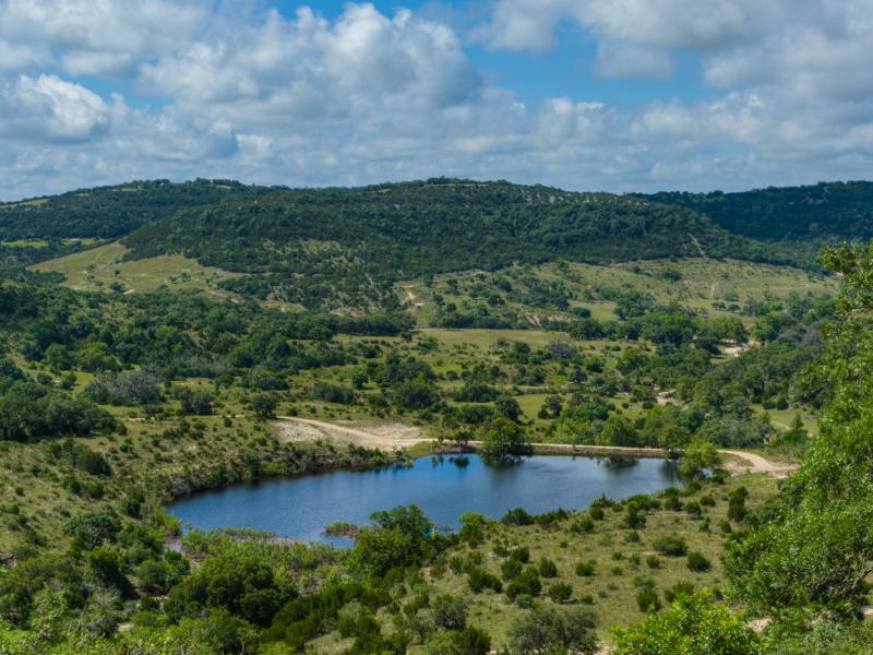 Turkey Knob Ranch with water in the  property for sale in texas