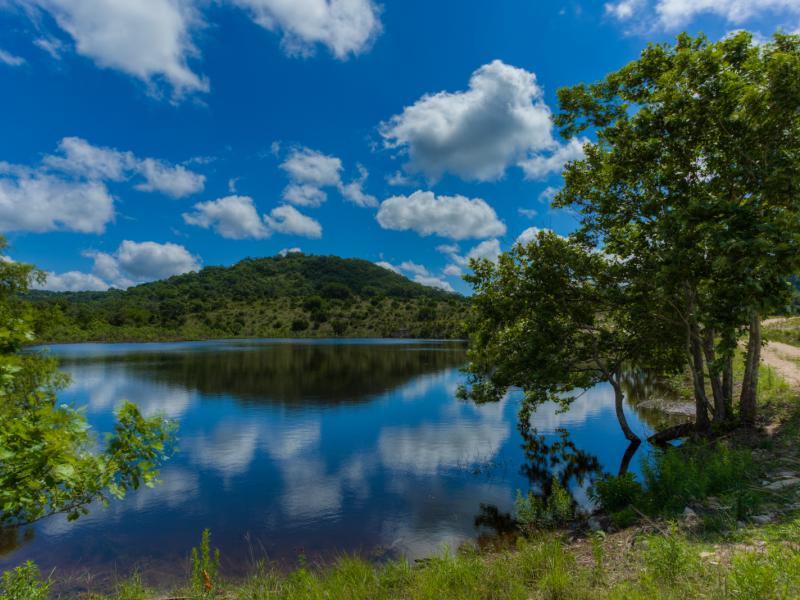 Turkey Knob Ranch with a lake in the  property for sale in texas