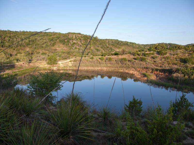 Turkey Knob Ranch water property for sale in texas