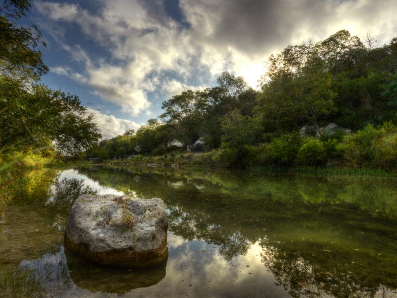 Turtle Creek Ranch a water in the property for sale in Texas